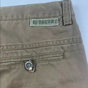 BURBERRY BRIT Mens Chino Pants Size 38 Brown